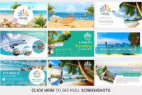 Travel Agency Powerpoint Templateslidesalad On regarding Powerpoint Templates Tourism
