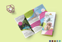 Travel And Tour Brochure Template in Word Travel Brochure Template