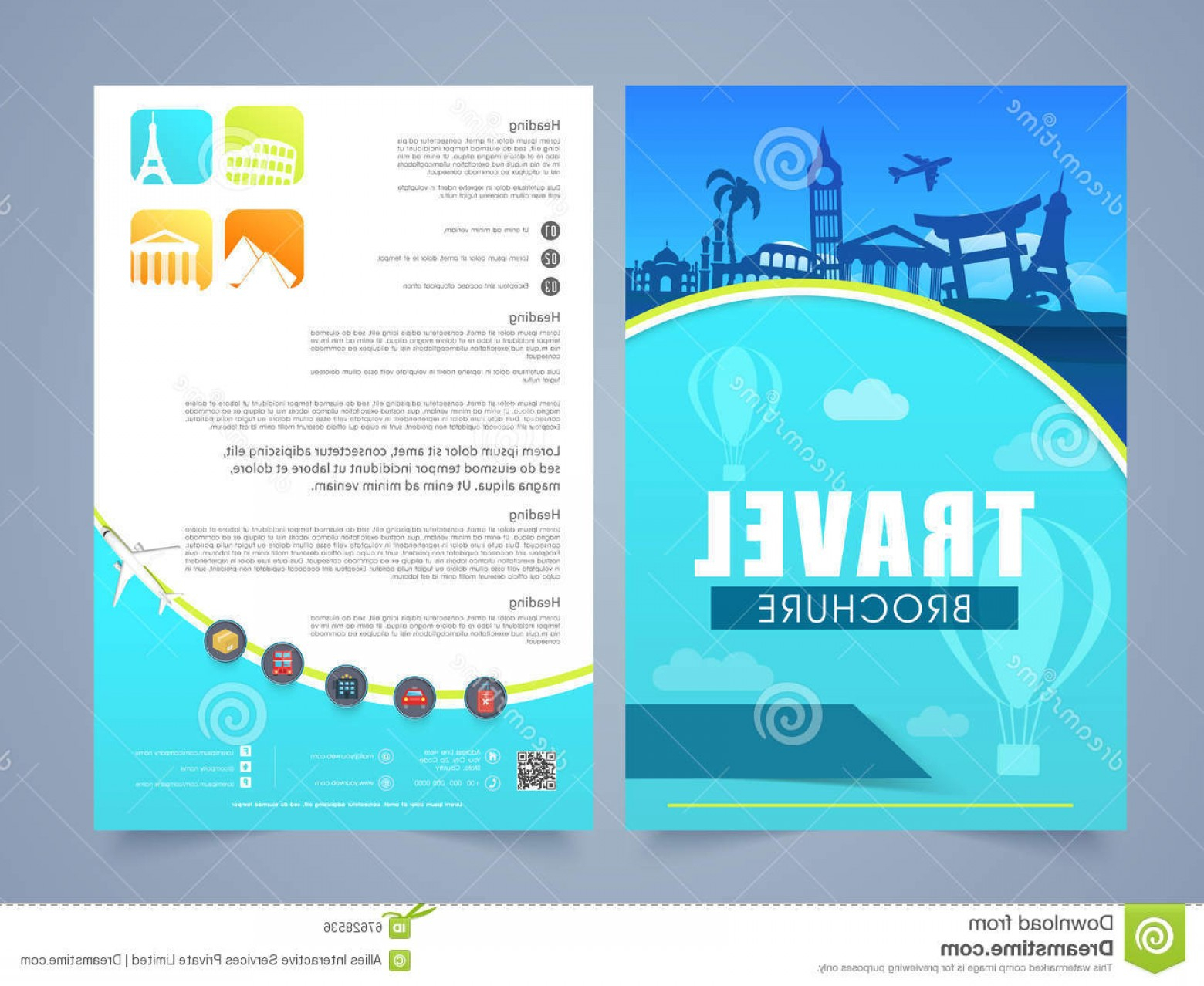 Travel And Tourism Brochure Templates Free | Soidergi For Travel And Tourism Brochure Templates Free