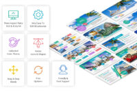 Travel And Tourism Powerpoint Presentation Template – Yekpix in Powerpoint Templates Tourism