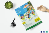 Travel Flyer Template intended for Word Travel Brochure Template