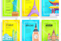 Travel Guide Brochure Template New Travel Flyer Template inside Country Brochure Template