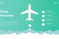 Travient Hotel & Travel Agency Powerpoint Template inside Tourism Powerpoint Template