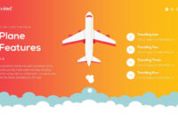 Travient Hotel & Travel Agency Powerpoint Template with Powerpoint Templates Tourism