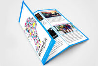 Tri Fold Brochure Design Layout   Adobe Illustrator (#speedart) throughout Adobe Illustrator Tri Fold Brochure Template