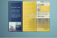 Tri Fold Brochure | Free Indesign Template for Brochure Templates Free Download Indesign