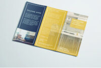 Tri Fold Brochure | Free Indesign Template in Z Fold Brochure Template Indesign