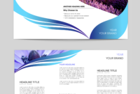 Tri Fold Brochure Template Google Slides   Care4U   Brochure with Brochure Templates For Google Docs