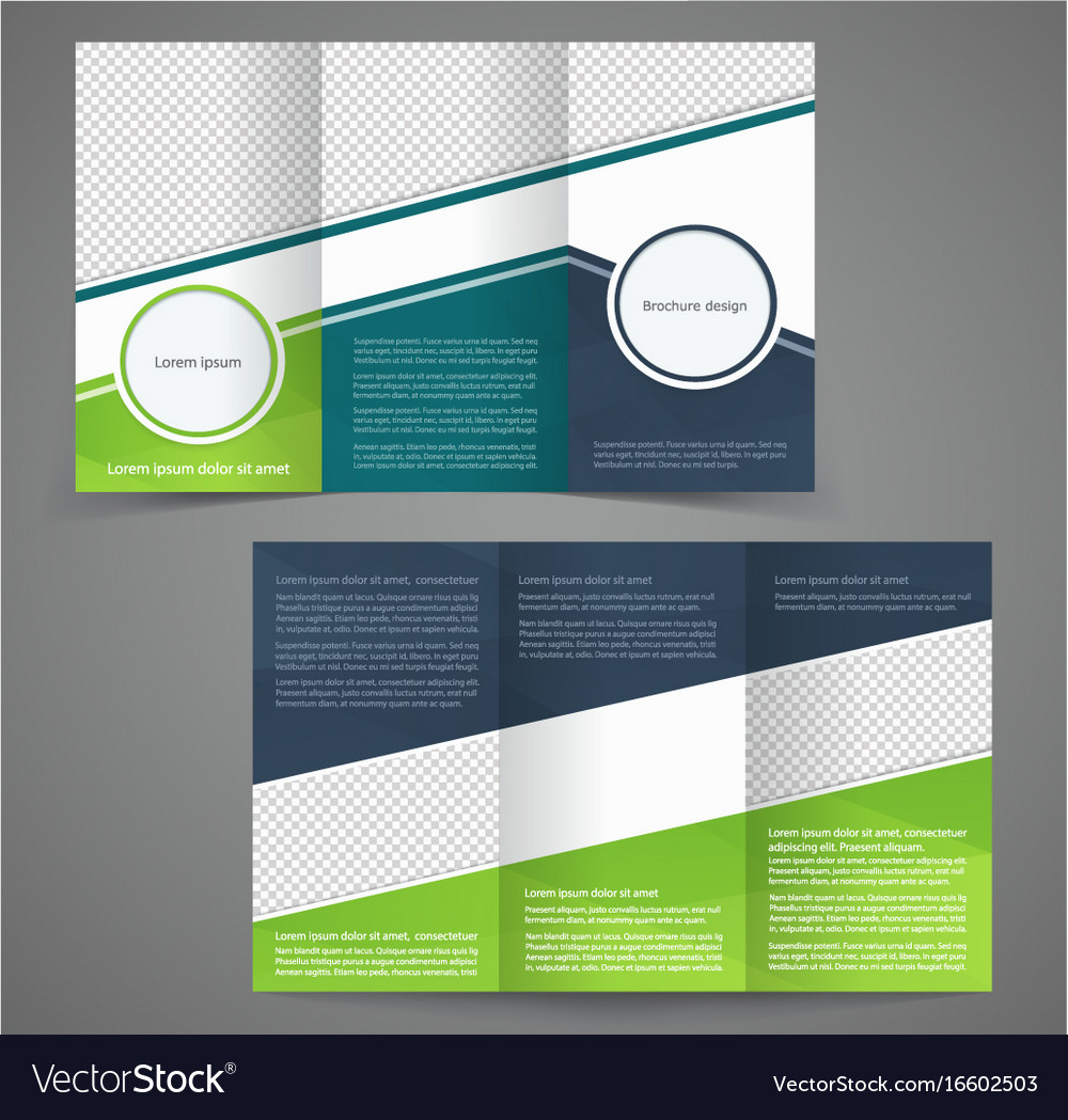 Tri Fold Business Brochure Template Two Sided Inside One Sided Brochure Template