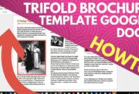 Trifold Brochure Template Google Docs regarding Brochure Template Google Docs