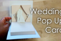 [Tutorial + Template] Diy Wedding Project Pop Up Card pertaining to Pop Up Wedding Card Template Free