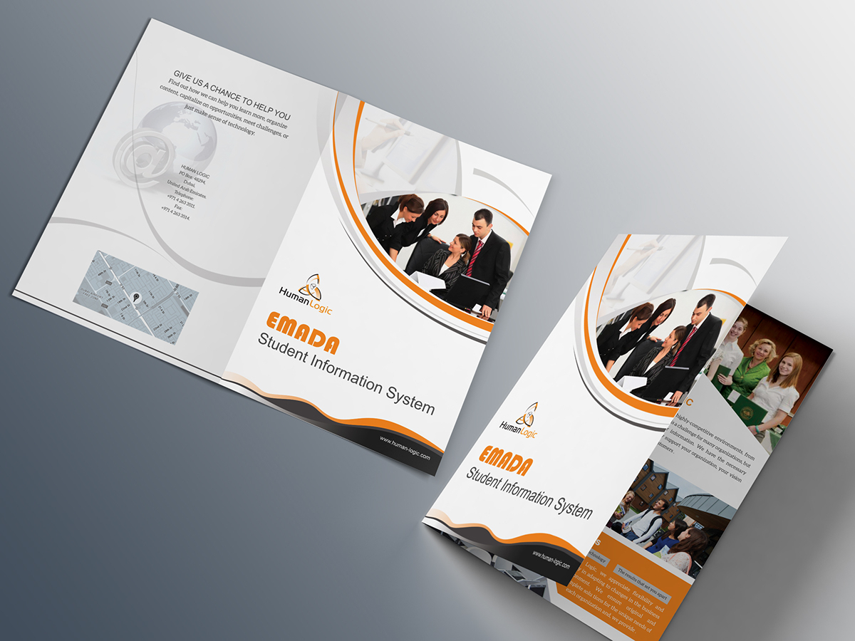 Two Fold Brochure Template Psd - Atlantaauctionco Pertaining To Two Fold Brochure Template Psd