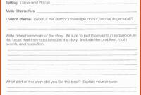 Unique 5Th Grade Book Report | Job Latter with regard to Sandwich Book Report Printable Template