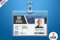 University Student Identity Card Psdpsd Freebies On Dribbble pertaining to Template For Id Card Free Download