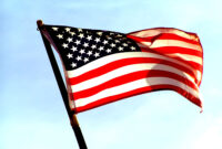Usa Flag Backgrounds For Powerpoint – Flags Ppt Templates with American Flag Powerpoint Template