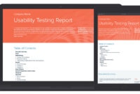 Usability Testing Report Template And Examples | Xtensio pertaining to Test Result Report Template