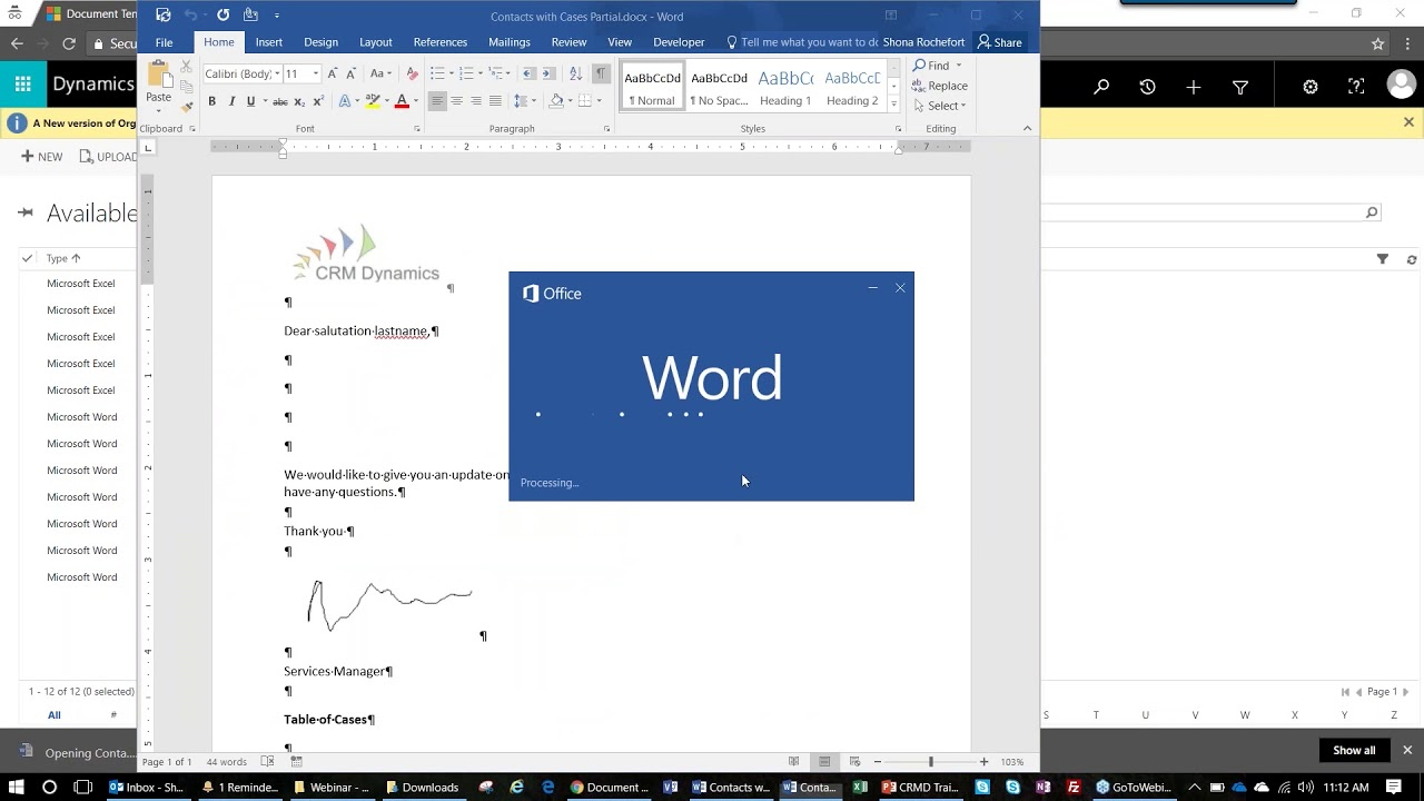 Using Word And Excel Templates In Dynamics 365 Throughout Where Are Templates In Word