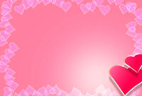 Valentine Backgrounds For Powerpoint – Border And Frame Ppt throughout Valentine Powerpoint Templates Free