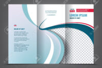 Vector Tri Fold Brochure Template Design, Concept Business Trifold.. regarding 3 Fold Brochure Template Free