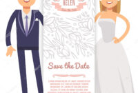 Vector Wedding Banner Template. Decorative Flyer With Bride in Bride To Be Banner Template