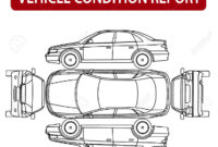 Vehicle Condition Report Car Checklist, Auto Damage Inspection throughout Car Damage Report Template