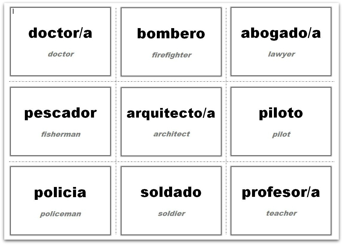 Vocabulary Flash Cards Using Ms Word Regarding Word Cue Card Template