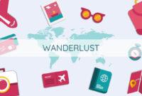 Wanderlust – Free Google Slides Themes And Powerpoint Templates within Powerpoint Templates Tourism