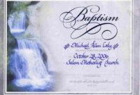 Water Baptism Certificate Templateencephaloscom for Baptism Certificate Template Download
