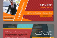Web Banners Templates | Free Website Psd Banners | Web regarding Free Online Banner Templates