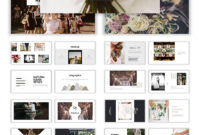 Wedding Album Ppt Templates | Templatemonster Throughout Powerpoint Photo Album Template