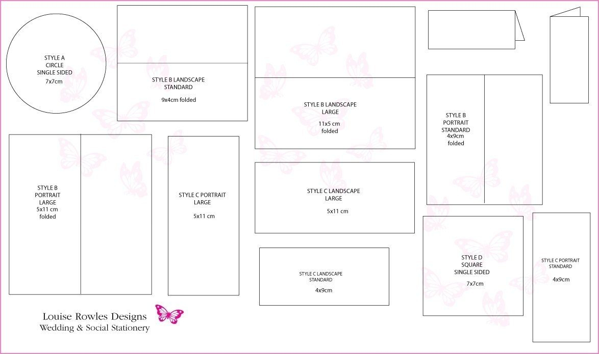 Wedding Card Template Size | Theveliger With Regard To Wedding Card Size Template
