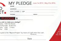 Wedding Favor Donation Card Template Card Templates within Donation Card Template Free