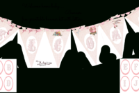 Welcome Home Baby-Girl Banner | Do It Yourself Today in Christening Banner Template Free