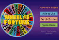 Wheel Of Fortune For Powerpoint – Gamestim pertaining to Wheel Of Fortune Powerpoint Game Show Templates