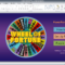 Wheel Of Fortune For Powerpoint – Gamestim With Wheel Of Fortune Powerpoint Template
