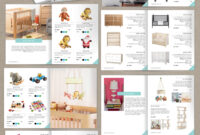 Wholesale Catalog Template-Id05 in Catalogue Word Template