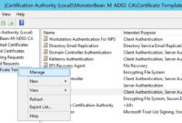 Windows 2012 R2 Nps With Eap-Tls Authentication For Os X within Workstation Authentication Certificate Template