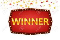 Winner Frame Label Banner Template. Win Congratulations Vintage.. regarding Congratulations Banner Template