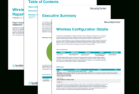 Wireless Configuration Report – Sc Report Template   Tenable® pertaining to Technical Support Report Template