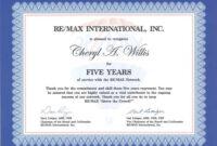 Work Anniversary Certificate Templates | Free Download with regard to Anniversary Certificate Template Free