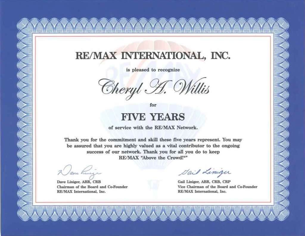 Work Anniversary Certificate Templates | Free Download With Regard To Anniversary Certificate Template Free