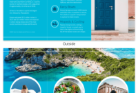 World Travel Tri Fold Brochure Template – Venngage for Country Brochure Template