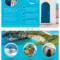 World Travel Tri Fold Brochure Template - Venngage pertaining to Island Brochure Template