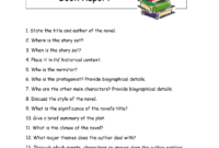 Writing A High School Book Report – How To Write A Book for Book Report Template High School