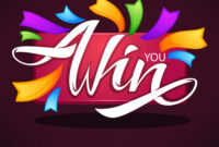 You Win Congratulation Banner Template With intended for Congratulations Banner Template