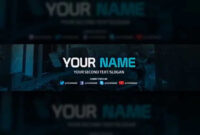 Youtube Banner Template – Free Download (Psd) with regard to Youtube Banners Template