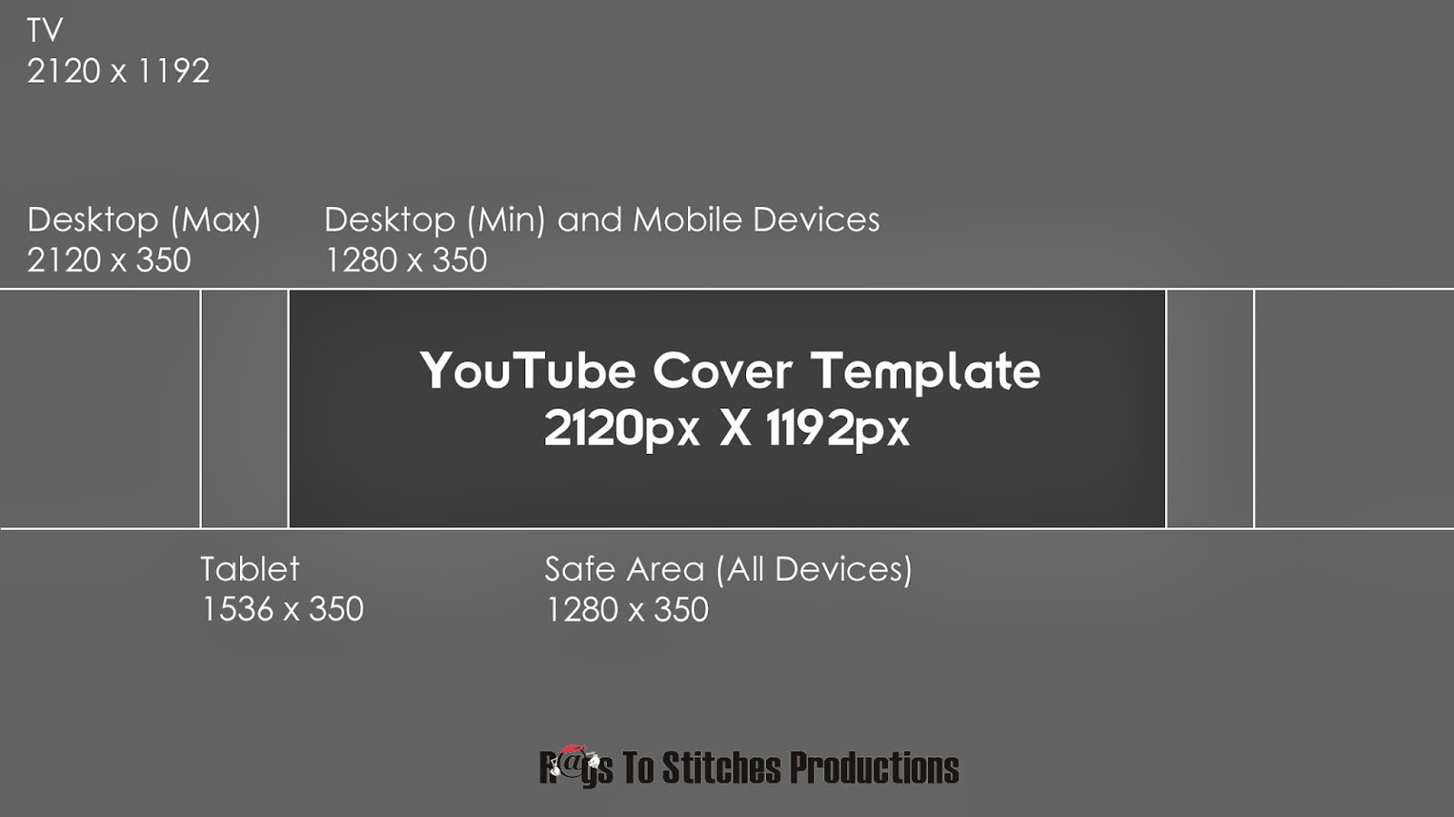Youtube Banner Template Size Regarding Youtube Banner Template Size