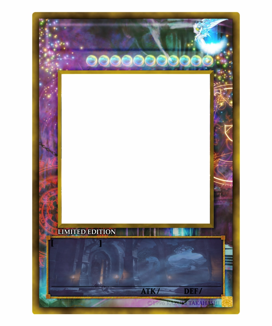 Yugioh Card Png - Yu Gi Oh Card Templates {#158219} - Pngtube Pertaining To Yugioh Card Template